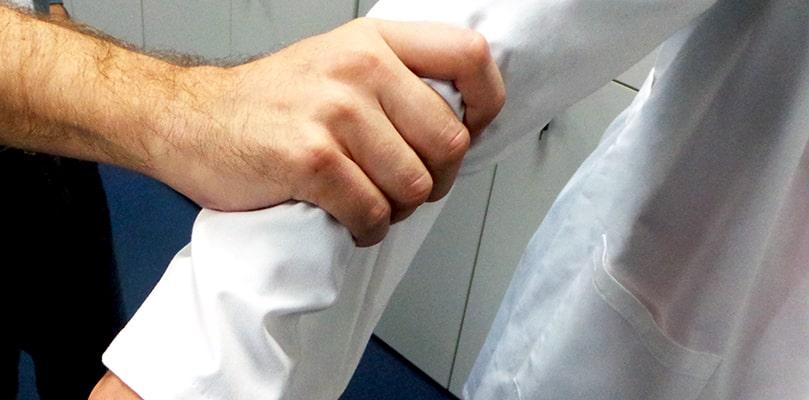 Presuntas agresiones a personal sanitario con condenas desproporcionadas