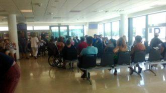 sala de espera hospital La Fe Valencia